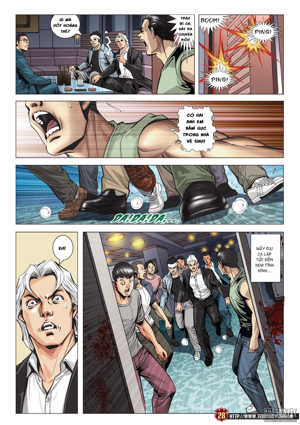 Người Trong Giang Hồ chapter 2045: câu chuyện thiên thu trang 26