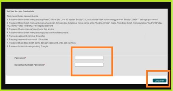 Cara Ganti Password Internet Banking Bni: LANGKAH TERAKHIR