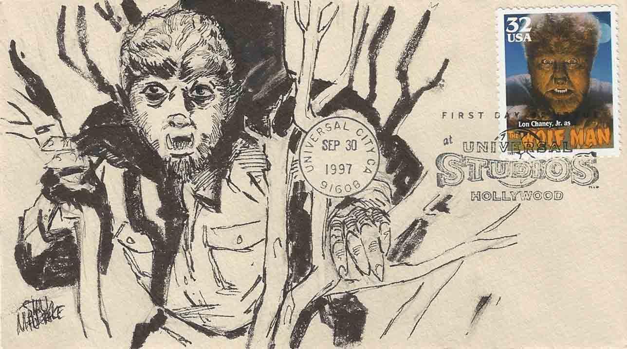 Universal Wolfman Drawing