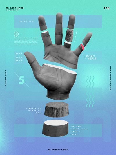 "Magdiel Lopez, ""My Left Hand"" 