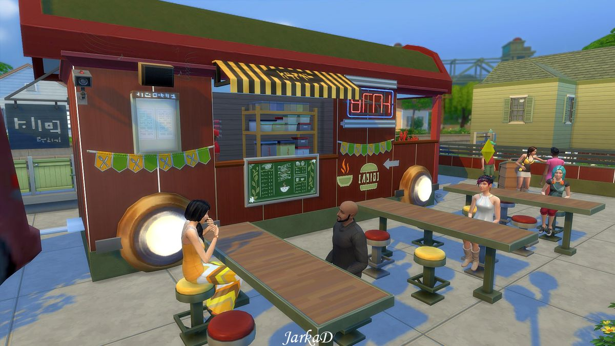 My sims mobile fast food restaurant by jarkad