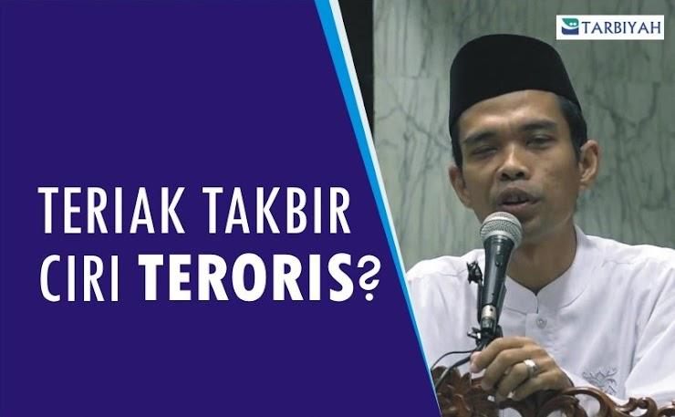"""Ceramah Jangan Teriak """"Allahu Akbar"""" karena Itu Ciri Teroris, Ini Jawaban Telak Ustadz Abdul Somad"""