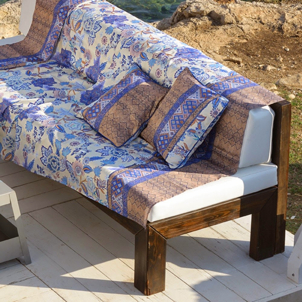 Tiepolo bassetti granfoulard foulard de decoracion - Foulard para sofa ...