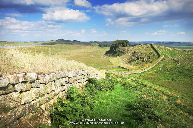 Housestead's Roman Fort - one of the best bits on the Hadrian's wall walk path, Best Hadrians Wall View, Sycamore Gap, Robin Hood prince of thieves, best view, Best Hadrian's Wall Walk, Roman wall, where is it