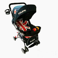 pliko bs208 coupe england stroller