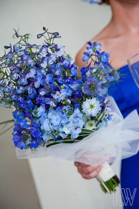 7 Kwiat 243 W Bukiety ślubne Z Niebieskich Kwiat 243 W