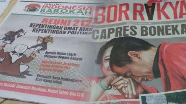 Tabloid Indonesia Barokah Didukung Jokowi-Maruf?
