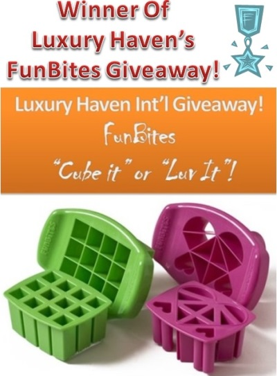 funbites kids luxury haven giveaways
