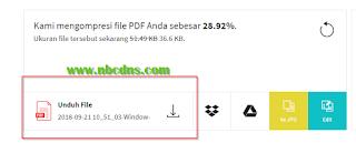 Cara Mengecilkan Ukuran File PDF Secara Online