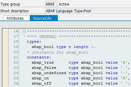 SAP ABAP Central: Enumerations...