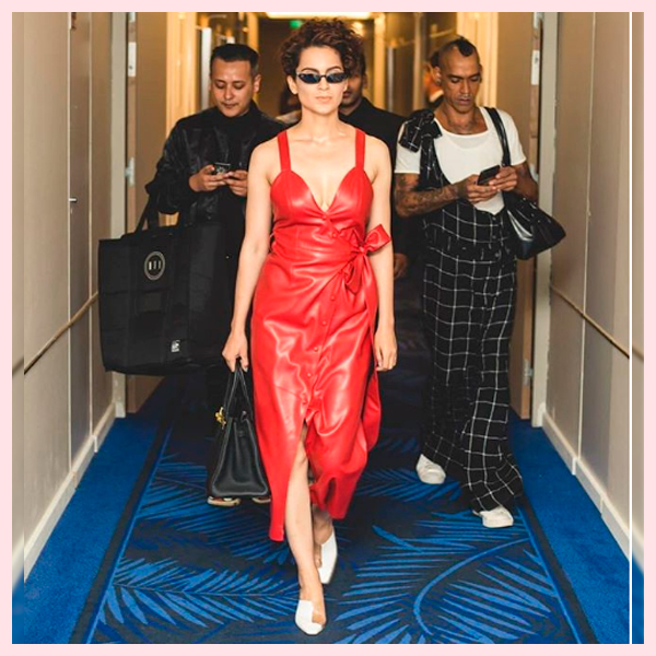 Kangana Ranaut Picks up a Retro Look at Cannes 2018 and Slaying it