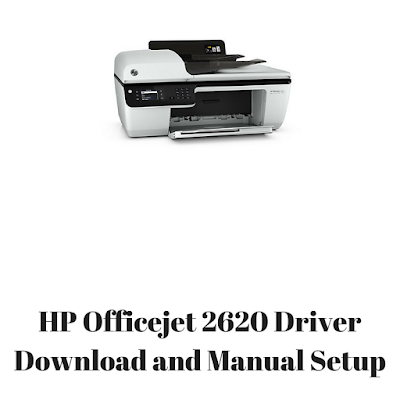 HP Officejet 2620 Driver Download and Manual Setup