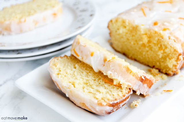 Orange-Lemon Pound Cake by Eat Move Make