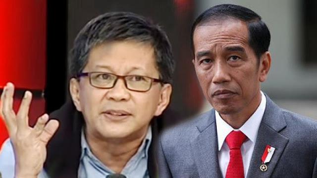 Tanggapi Jokowi yang Minta Akhiri Politik Kebohongan, Rocky Gerung: Mulailah dari Diri Sendiri