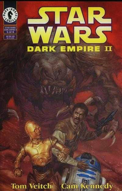 Star Wars Dark Empire II #5 image cover