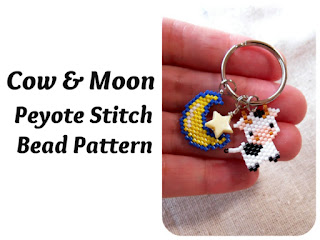 Click here for more info. about the Cow & Moon Bead Patterns