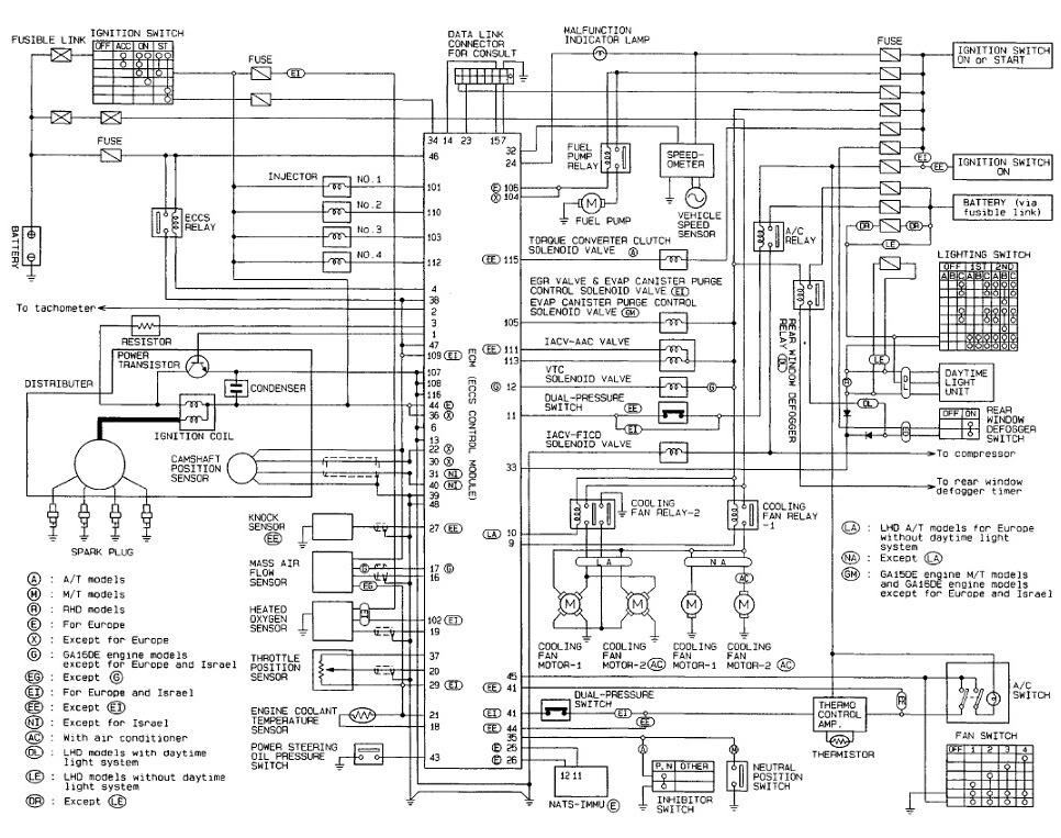 1993 nissan 240sx radio wiring diagram epiphone les paul jr 1995 hardbody - imageresizertool.com