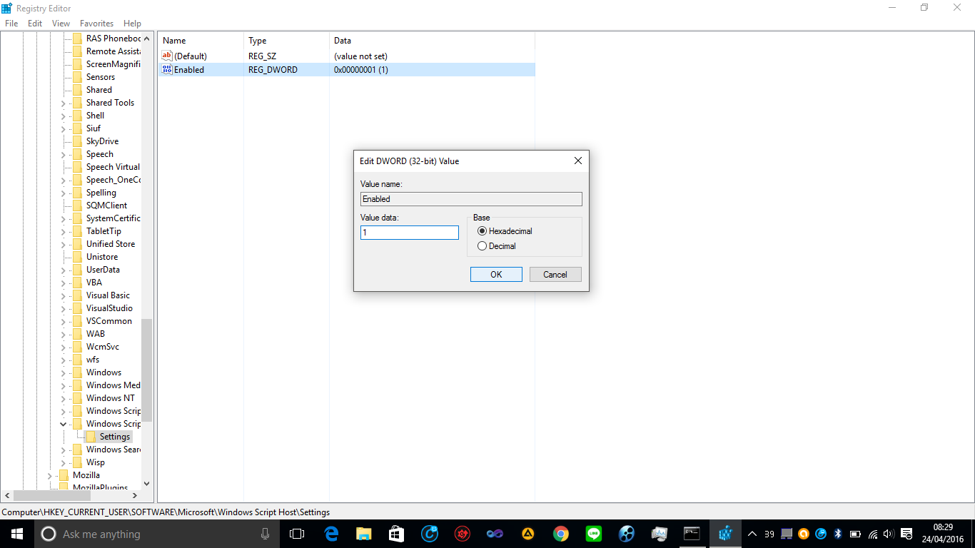 script windows