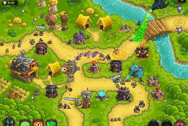 Kingdom Rush Vengeance Gameplay - Game thủ thành hay cho android