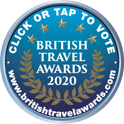 PURRLEASE VOTE FOR US IN THE BRITISH TRAVEL AWARDS 2020