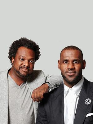 Bonin Bough e LeBron James - Divulgação