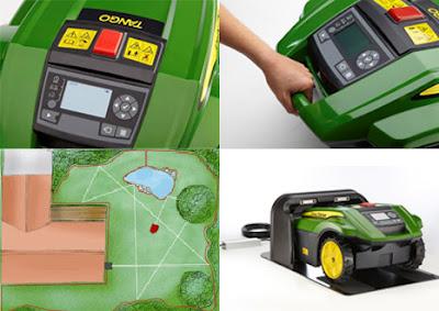 si robot hijau pemotong rumput - agayabak