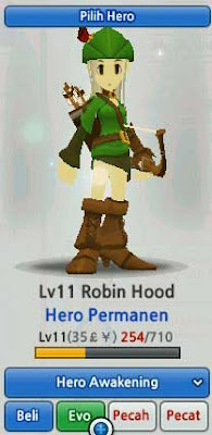 Robin Hood Hero Evolution LostSaga Indonesia