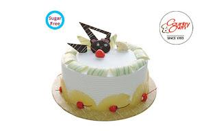 Round Pineapple (Sugar Free Cake)