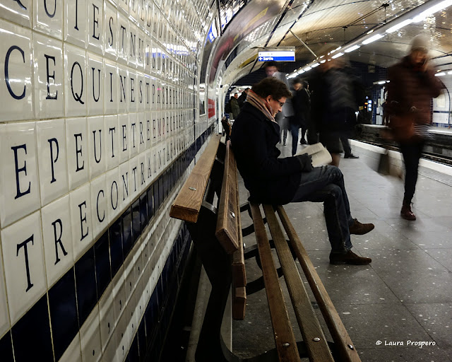 station concorde, paris 2015  © Laura Prospero