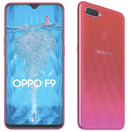 OPPO F9 smartphone features