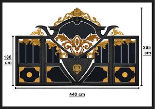 Kumpulan desain pagar besi tempa klasik yang cocok untuk rumah mewah