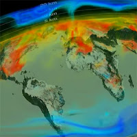 NASA CO2 Visualization (Credit: NASA) Click to view