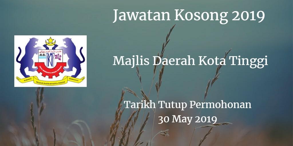 Jawatan Kosong MDKT 30 May  2019