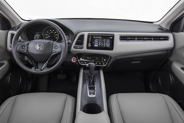 Novo Honda HR-V 2019 Touring - interior