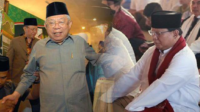 Ma'ruf Amin Diajak Adu Renang, Prabowo Diajak Baca Quran