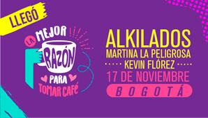 ALKILADOS,  Martina La Peligrosa y Kevin Florez en Bogotá 2018