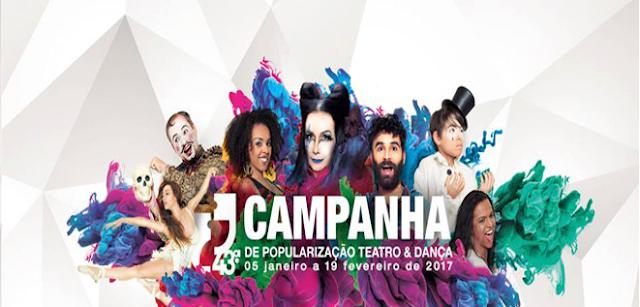 Teatro no Shopping Estação - 43º Campanha de Popularização do Teatro e da Dança em BH