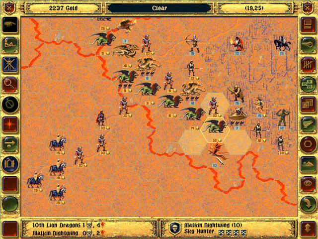 Malakin Hero   Fantasy General Screenshot