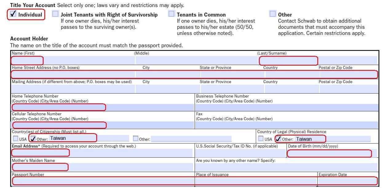 綠角財經筆記: 美國券商嘉信理財(Charles Schwab)開戶步驟詳解1(How to Apply for Schwab One International Account)---開戶申請 ...