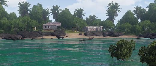 海の色をエメラルドグリーンにするArma 3 MOD