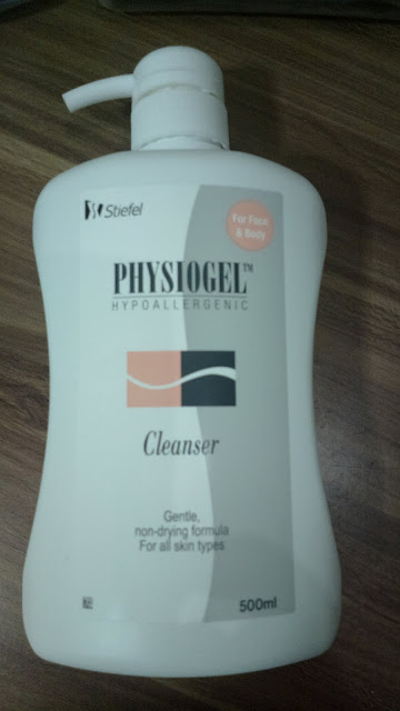 Physiogel gentle cleanser