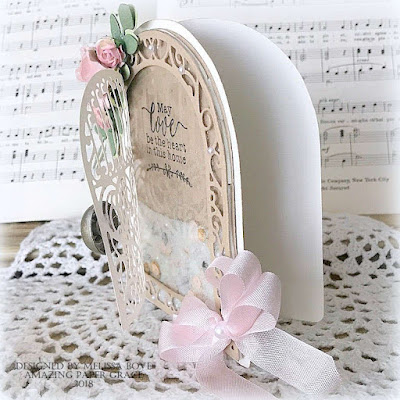 Creating from the Heart: ♥ Door Style Shaker Card