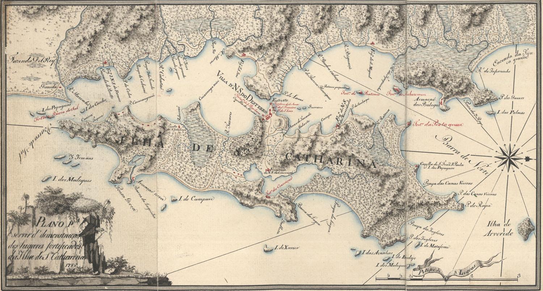 santa catarina lisboa mapa O Buscador: Os 500 dias em que a atual Florianópolis foi  santa catarina lisboa mapa