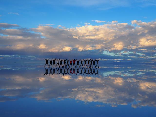 Regenzeit, Salar de Uyuni