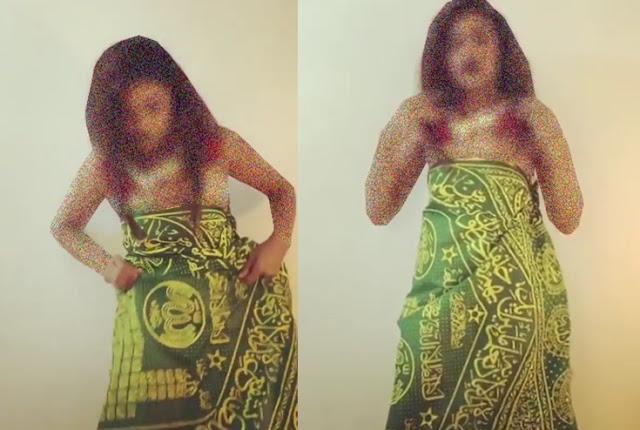 Astagfirullah, Video Wanita Hina Lafaz Allah ini Membuat Geram, Lihat  Apa yang Dilakukanya