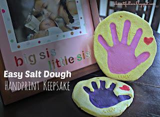 DIY handprint