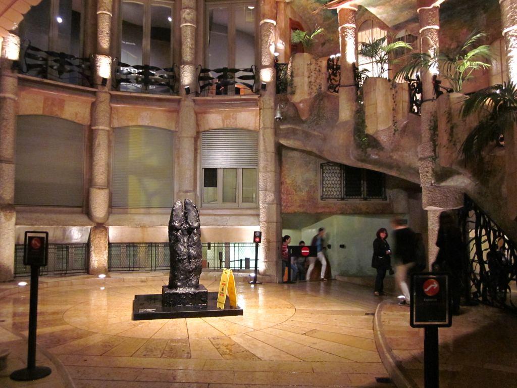 Casa Mila Courtyard | www.pixshark.com - Images Galleries ...
