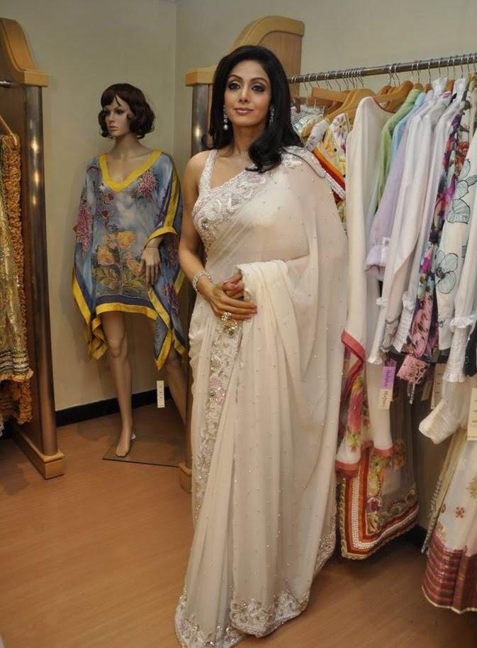 Sridevi Kapoor In Saree Pictures