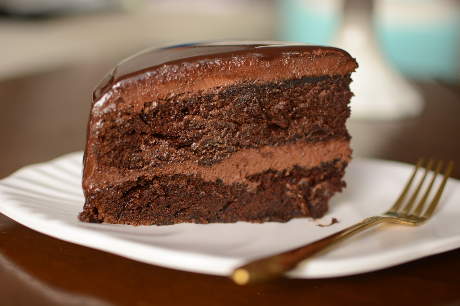 Easy Homemade Chocolate Cake Recipe And The Best: Easy Homemade Chocolate Cake Recipe