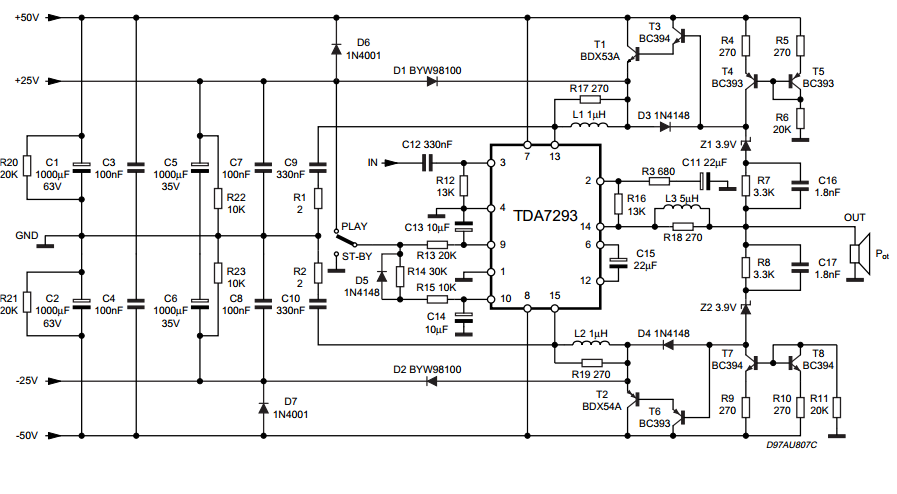 Swell Forum Diagram Subwoofer Amplifier Tda7293 Wiring 101 Orsalhahutechinfo